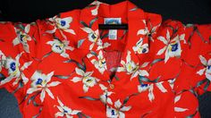 MEDIUM Hawaiian shirt Shirt Luau shirt shirt Hawaiian by ITSYOYEEN, $18.00