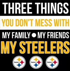 In other words Steelers Nation, cause they're my family, friends and all Steelers fans.. - kip renninger - Google+