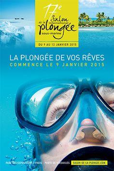 Salon Plongée Sous-Marine 2015 - Thème L'Exploration ! http://plongee-en-guadeloupe.blogspot.fr/2014/07/salon-plongee-sous-marine-janvier-2015.html