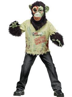 Boys Skeleton Zombie Kids Child Fancy Dress Party Halloween ...