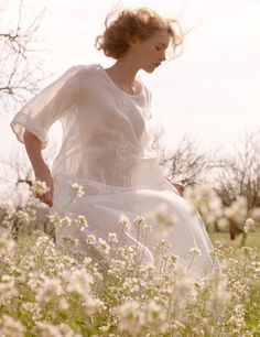 ~ Beauty in the meadow. Portrait Photography, Fashion Photography, Field Of Dreams, Foto Art, Ethereal, Character Inspiration, Fairy Tales, Photoshoot, Wedding Dresses