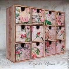 Мини комод Розовая дымка - розовый,мини-комод,мини-комодик,миникомодик