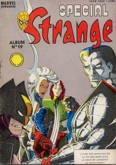 Spécial Strange -REC19- Album N°19 (du n°55 au n°57) 1988