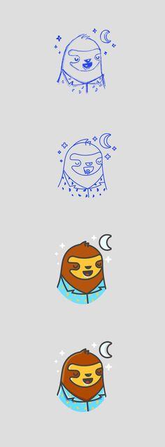 Kilacuna logo process by Rene Agudelo