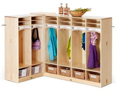 New Kindergarten Cubbies from Community Playthings
