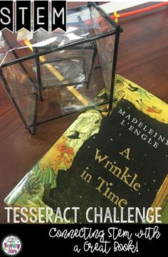 ⭐️If you read A Wrinkle in Time by Madeleine L'Engle this is the STEM Challenge for you?  The movie is coming out and kids are excited, so make learning fun by having your students create a Tesseract. Connecting STEM with a Great Book: A Wrinkle in Time STEM Challenge will get your students excited about reading. Students will design a TESSERACT. It is a great way to integrate literature and STEM!  This lesson also connects with several geometry standards.