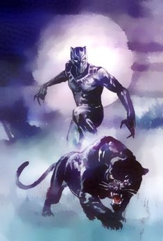 The king of Wakanda T'Challa. Superhero Wallpaper, Marvel Artwork, Comic Art, Black Panther Art, Marvel Wallpaper, Black Comics, Art, Panther Pictures