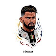 Fifa Football, Football Art, Juventus Stadium, Professional Football, Neymar Jr, Design Lab, Character Drawing, Cristiano Ronaldo, Old Women