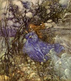 A Fairy by Arthur Rackham