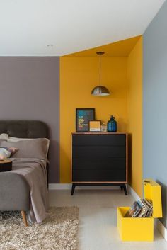 65 Ideas Interior Colour Trend 2020 65 Ideas Interior Colour Trend What is the favorite color of your room? Change of the year is coming soon we will participate in the celebration which yesterday had missed the celebration of Christmas. Home Decor Bedroom Wall Designs, Bedroom Decor, Teen Bedroom, Wall Decor, Home Design, Home Interior Design, Interior Ideas, Color Interior, Interior Paint