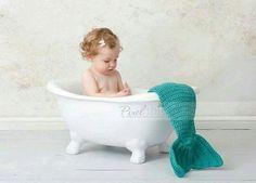 Ensaio de bebê Sereia