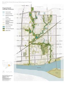 2012 Bloody Run Creek Greenway Redevelopment Project Plan