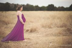 b77a45b87e8fa Plus Size Maternity Maxi Dress in Luscious Natural by shopkobieta Maternity  Gowns, Fall Maternity,