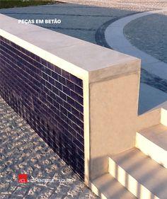 Veja como ficou! Centro Social e Paroquial de Navais Peças em betão aparente -- Take a look! Social and Parish Centre of Navais Exposed concrete pieces  #concrete #concreto #betão #arquitetura #architecture #design #construction