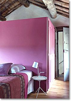 Bedroom - radiant orchid