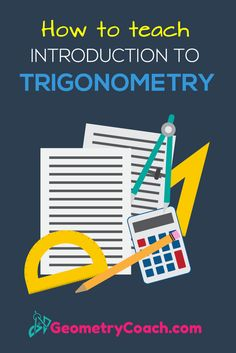 These printable activities are great. The guided notes are also great! http://geometrycoach.com/introduction-to-trigonometry/