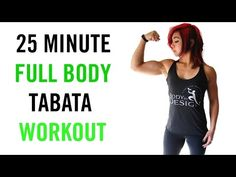 25 Minute CRAZY Tabata HIIT Workout | Bodyweight Only! - YouTube