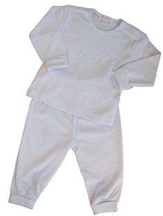 Kissy Kissy Boy 0-3 Mo.L//S White Footy//Sleeper w//Jacquard Weave Pattern NWT