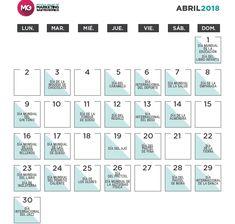 Calendario de ideas de marketing gastronómico para el mes de abril