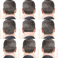This haircut can be a fairly high maintenance as it requires styling each morning and frequent trips to the barbershop to maintain the shape.