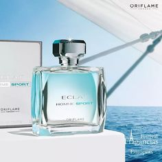 Eclat sport for men by Oriflame Cosmetics ❤MB Oriflame Beauty Products, Oriflame Cosmetics, Oriflame Business, Cosmetic Companies, Skin Makeup, Perfume Bottles, Skin Care, Victor Hugo, Arabic Food