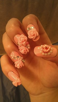 Eek, this is hideous. I would never want this on my nails.