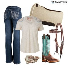 Looking #TrendyInTurquoise isn't just for English riders! You can hit the trails (or the arena) on-trend and in-style in today's #ROOTD.  http://blog.smartpakequine.com/2016/10/rootd-fun-flattering/