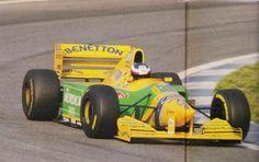 J.Gene Test Barcelona 93, Benetton