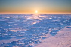 Winter sunrise on the Chaleur Bay (NB, Canada) by Christian Baudchon on 500px