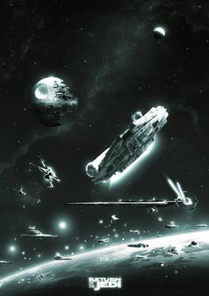 Star Wars: Episode VI - Return of the Jedi / Star Wars: Episode VI - Die Rückkehr der Jedi-Ritter Star Trek, Star Wars Film, Nave Star Wars, Star Wars Fan Art, Star Wars Ships, Star Wars Poster, Lego Star Wars, Images Star Wars, Star Wars Pictures