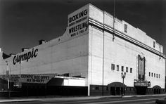 The Olympic Auditorium, Los Angeles. The place to be on Friday nights for professional wrestling matches! Thanks, Papa O!