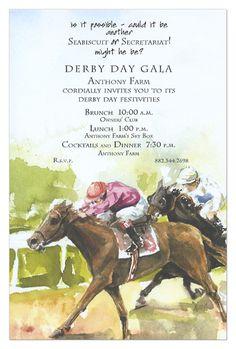 Horse Race Invitations?