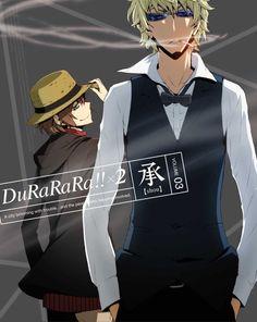 Durarara!!x2 Shou DVD Cover vol 3