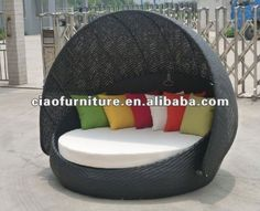 Perfect Cheap Bed Kid, Buy Quality Bed Lines Directly From China Bed Car Suppliers:  KL C049 Free Shipping, Good Quality, Outdoor Furniture Bed, Round Canou2026