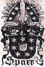coat of arms von Sparr - Ancestors, Ilsabe von Sparr 1527 married to Jochim von Kluetzow