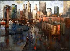 Martí Bofarull - Brooklyn Bridge and East River Drive