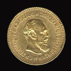 Russia 1888 5r gold coin, v.f. Dealer Cherrystone Auction Auction Estimate price: 375.00 US$