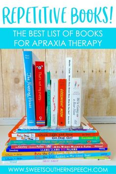 Repetitive Books For Apraxia of Speech - Sweet Southern Speech