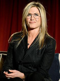Jennifer Aniston at the Academy of Television Arts & Sciences Presents An Evening Honoring James Burrows panel in North Hollywood,California on Oct.7,2013