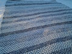 Recycled Fabric, Woven Rug, Hand Weaving, Rugs, Rug Weaves, Farmhouse Rugs, Knit Rug, Hand Knitting, Rug