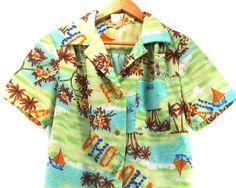 Very cool Vintage Hawaiian Shirt.