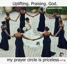 Wedding photo: Prayer Circle