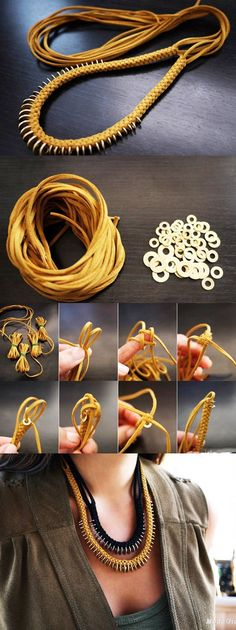 DIY Chain Necklace Tutorial