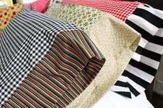 TUTORIAL: PILLOWCASES ~~ MADE There's nothing like a Crisp, Clean Pillowcase to say goodnight.