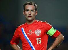 Roman Shirokov, capitão da seleção Russa, enfrenta problemas no tendão de Aquiles e não jogará o Mundial da copa. - MM ON