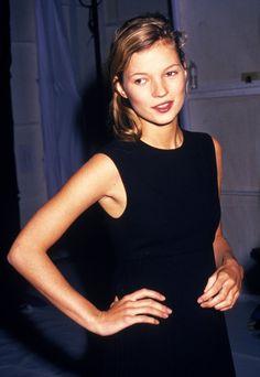 Kate Moss au début des années 90
