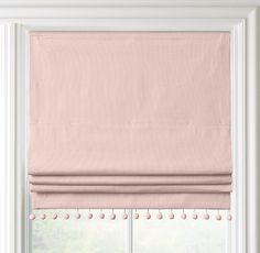 Pom-Pom Linen-Cotton Roman Shade                                                                                                                                                                                 More