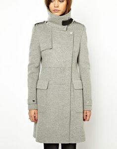 Karen Millen Buckle Coat