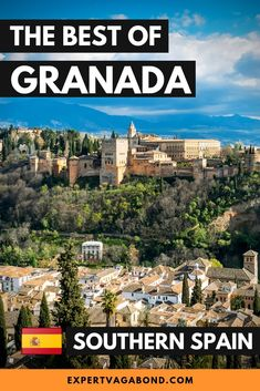 GRANADA, SPAIN: Granada is a beautiful little city in the South of Spain where I lived for a month as a digital nomad. Here are some of the best things to do in Granada on your visit! Malaga, Cool Places To Visit, Places To Travel, Amazing Destinations, Travel Destinations, Madrid, Book Cheap Hotels, South Of Spain, Europe On A Budget
