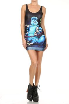 Bazar One: Caterpillar Bodycon Dress